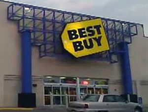 Virginia Carson Original Best Buy Logo